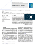 2010 Forward Osmosis for the Concentration of Anthocyanin From Garcinia Indica