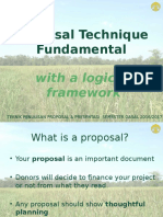 Teknik Penulisan Proposal dan Presentasi