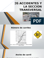 Accidentes y La Seccion Transversal
