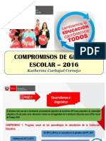 6 Compromisos de Gestion Educativa Para El 2016.