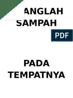 BUANGLAH SAMPAH PADA TEMPATNYA.docx