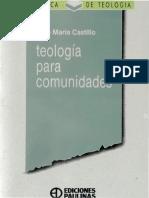 Castillo Jose Maria - Teologia Para Comunidades