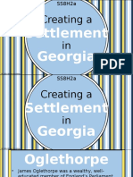 creating a settlement in georgia