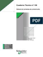 Calculo de La Corriente de Corto Circuito Cuaderno Tecnico 158