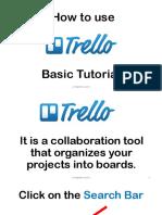 How to use Trello a Basic Tutorial - Jenrose Arellano - Your Legendary VP