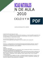 Malla Curricular 2010