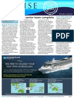 Cruise Weekly for Thu 25 Aug 2016 - RCL appoints, HurtigrutenSINGLEQUOTEs new GSA, Scenic agent portal, Majestic Princess, Carnival, Coral Expeditions AMPERSAND more