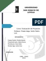 trabajo de evaluación de proyectos- conceptos basicos