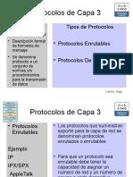 Protocolos Capa de RED
