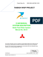SD-01 DM16-MN-LAB-PM0-10100 RA Boiler Feed Water System