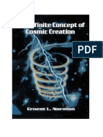 The Infinite Concept of Cosmic Creation by Ernest L Norman