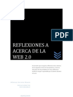 REFLEXIÓN ACERCA DEL WEB 2