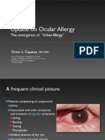 Ocular 'Urban' Allergy