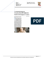 Morto Mascilli Migliorini. Fondò il Messaggero Veneto - Il Messaggero Veneto del 24 agosto 2016