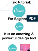 How to use Canva a Basic Tutorial - Jenrose Arellano - Your Legendary VP