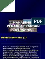 2. Management Bencana