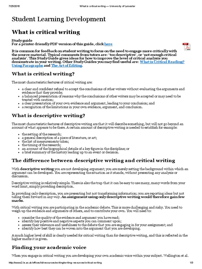Best critical thinking writer website for university write culture annotated bibliography
