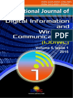 IJDIWC_Volume 5, Issue 1