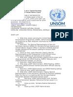 "Somalia is at a ""good turning point,"" says UNDP Head Helen Clark"