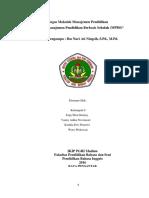 Strategi Manajemen Pendidikan Berbasis Sekolah(MPBS)