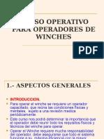 Curso Operativo Para Operadores de Winches