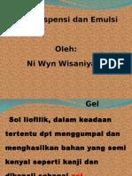 IV. Gel-emulsi (Wisaniyasa)