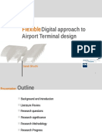 Flexible digital approach to Airport terminal design