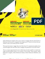 Indian Restaurant Congress & Awards 2016