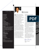 FM Magazine 1st Edition Editor's Page