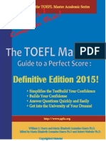 The TOEFL Masters Guide