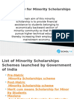 How to Apply for Minority Scholarships