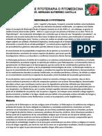 Fitoterapia. Dr Hernan Gutierrez.