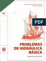 UNAM Problemas de Hidráulica Básica