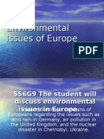environmental issues in europe-gened