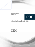IBM Cognos Analytics Administration and Security Guide