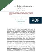 Ruy Mauro Marini - Brasil - Da Ditadura à Democracia - 1964-1990