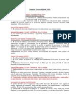 Cronograma Derecho Procesal Penal Comisión A