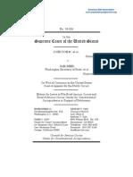 Doe v Reed Amicus Curiae Center Constitutional Jurisprudence