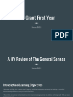 The Giant First Year
