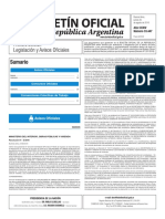 Boletín Oficial de la República Argentina, Número 33.447. 25 de agosto de 2016