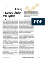 Building and Using a scalable display wall system
