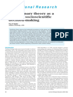 _JBE_Evolutionary Theory as a Guide to Socioscientific Decision-making