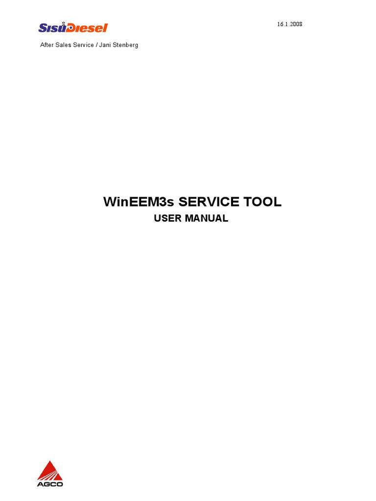 WinEEM3 User Manual_ver2 | Electrical Connector | Diesel Engine