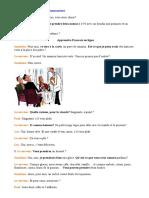 Français - Au Restaurant - Les Clients Commandent