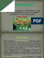 Slide Do Módulo Ecopedagogia Educação e Meio Ambiente e Sustentabilidade
