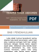 178675658 Presentasi Trauma Tusuk Abdomen Ppt