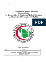Executive Rule for CME_PD -SCFHS