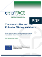EFFACE_The Aznalcollar and Kolontar Mining Accidents_revised