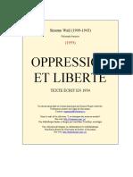 Méditation Sur l'Obéissance Et La Liberté
