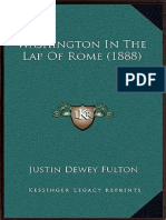 Washington in the Lap of Rome
